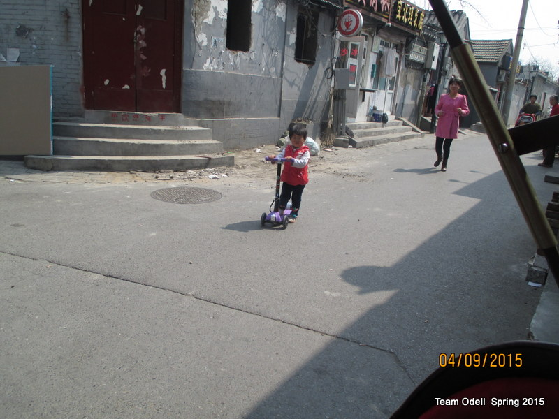 Cuteness in the hutong.