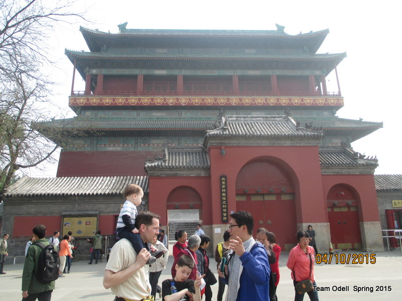 Originally Ming dynasty, but made of wood, so burnt down and rebuilt by Qing dynasty