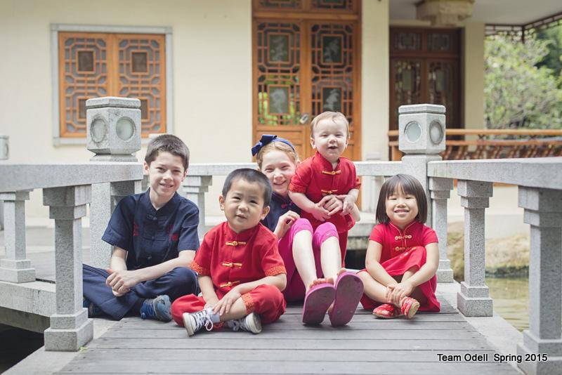 Team Odell Junior - China Crew 2015.