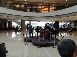 A little Captain & Tennille  instrumental to give the IFC Mall some ambiance.
